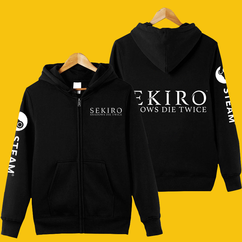 Sekiro™: Shadows Die Twice Full-zip Hoodie Pullover Sweatshirt