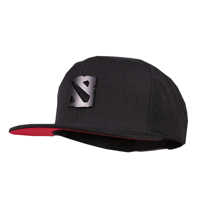 Dota 2 Metal Logo Cap Black Hat