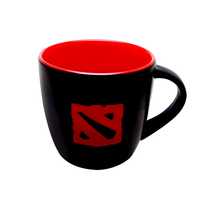 Dota 2 Red Black logo Cup Mug