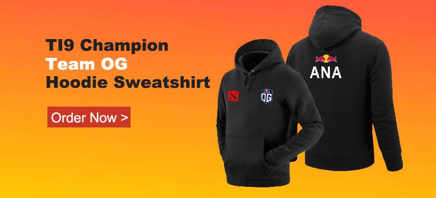 Dota 2 team og hoodie