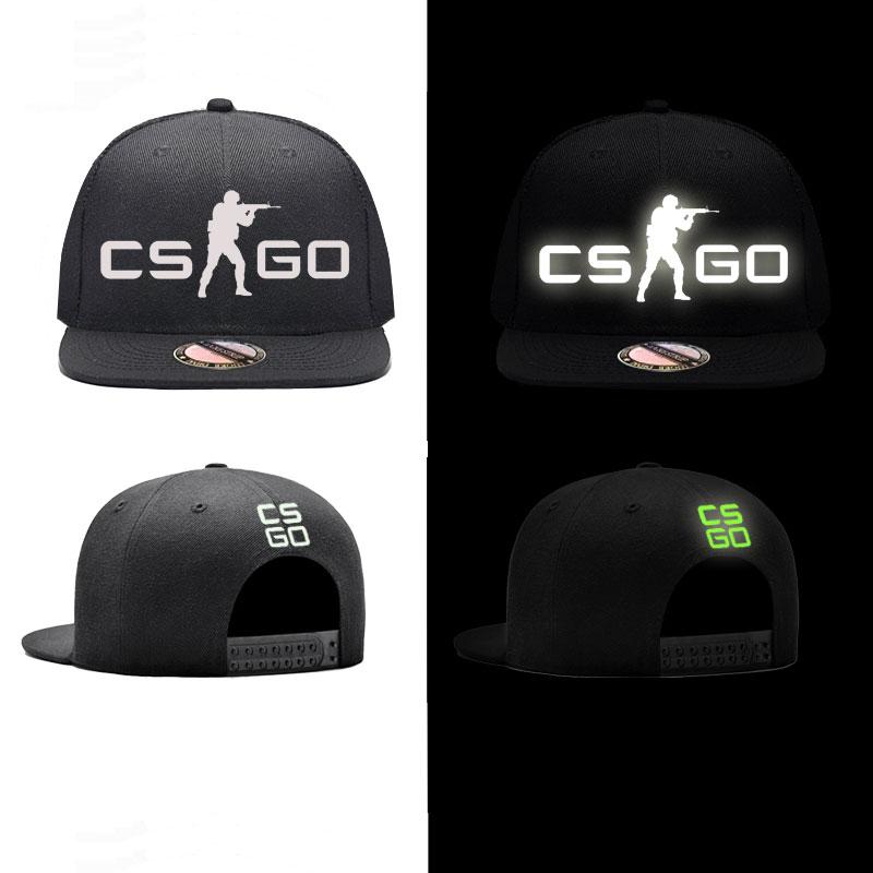 CSGO Luminous Snapback Caps ACDC Baseball Cap Hat