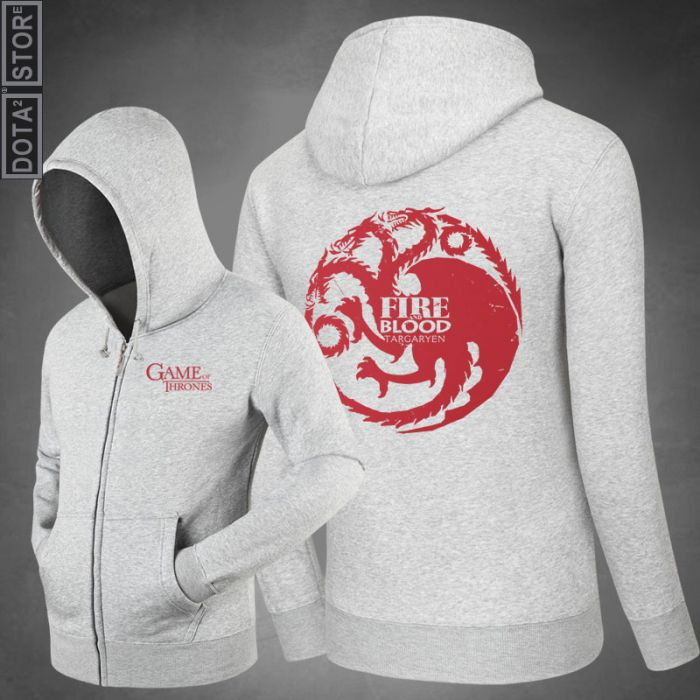 7c686c0a2b6 Game of Thrones Fire And Blood Hoodie - Dota 2 Store