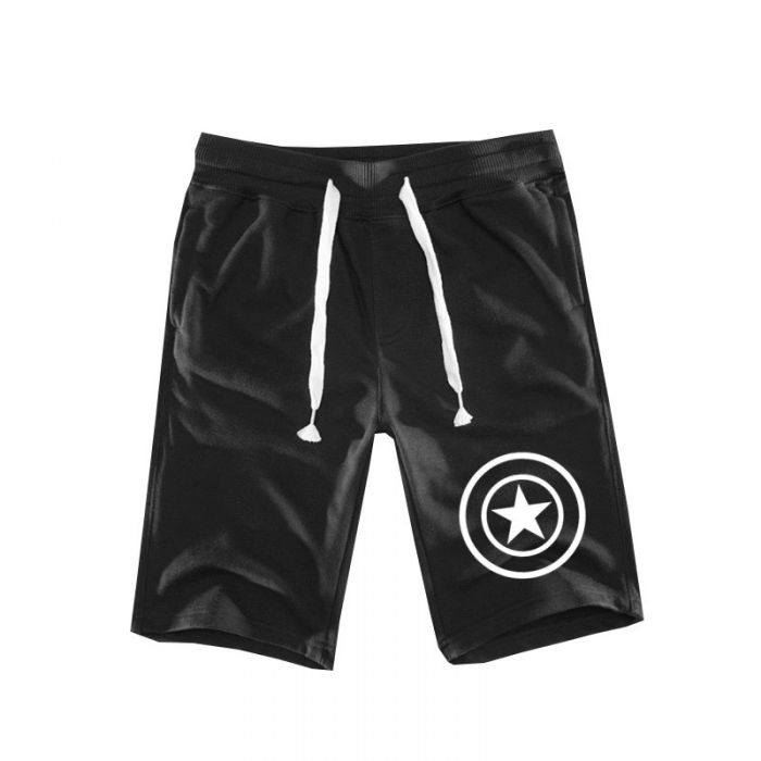 46329d715cd9e Marvel Captain America Shorts Men Boardshorts - Dota 2 Store