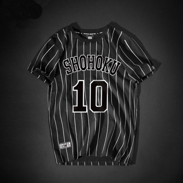 173ae209c60 Slam Dunk Hanamichi Sakuragi Number 10 T Shirt - Dota 2 Store