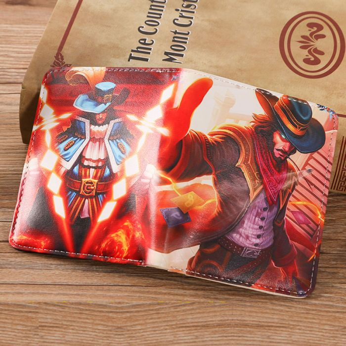 211d503aa Twisted Fate League of Legend Short Wallet - Dota 2 Store