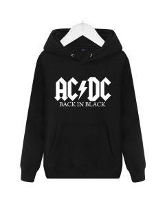 AC/DC Pullover Hooded Hoody Fleece Sweatshirt