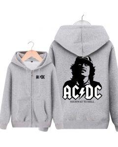 AC/DC Pullover Hoodie ACDC Long Sleeve Sweatshirt