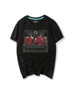 AC/DC T-shirts Short Sleeve Tee Shirts