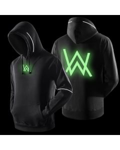 Alan Walker Luminous Hoodie Hooded Fleece Sweatshirt