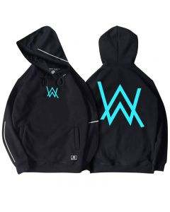 Alan Walker Luminous Hoody Front Pocket Pullover Hoodie