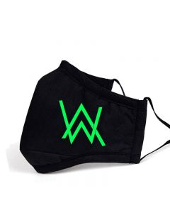 Alan Walker Protective Mask Luminous Mouth Mask