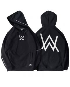 Alan Walker Unisex Pullover Hoodie Hooded Sweatshirt