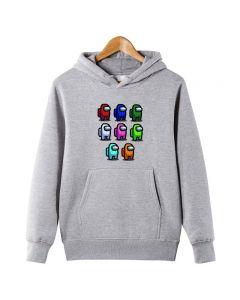 Among Us Printed Pullover Hoody Sweatshirt