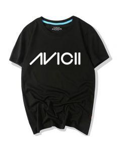 Avicii Logo Printed T-shirt Summer Tee Shirt