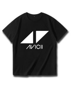 Avicii T-shirt Short Sleeve Tee Shirt