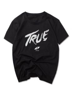 Avicii True T-shirt Short Sleeve Tee Shirt