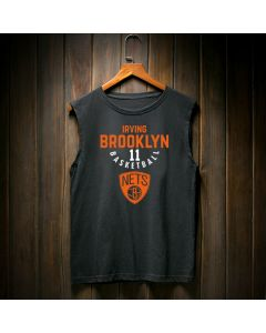Brooklyn Nets Kyrie Irving Number 11 Tank Top