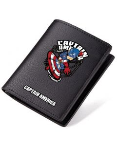Captain America PU Leather Wallet