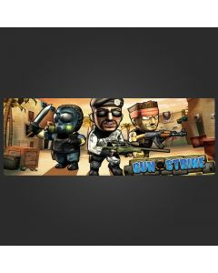 Cartoon CSGO Counter Strike Mouse Pad