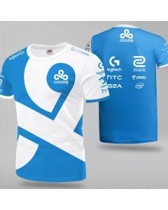 Cloud9 Player Jersey Short Sleeve Tee Shirt