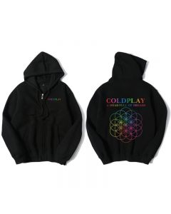 Coldplay A Head Full of Dreams Full-Zip Hoodies