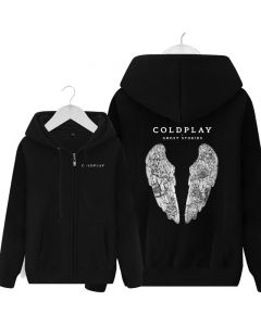 Coldplay Ghost Stories Full-Zipper Hoodies Sweatshirts