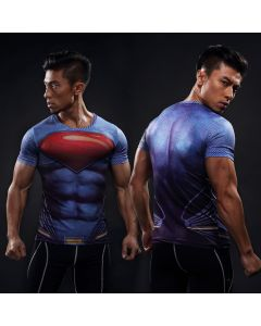 Compression Superman Fitness Shirt