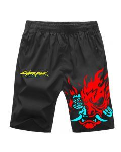 Cyberpunk 2077 Shorts Workout Sport