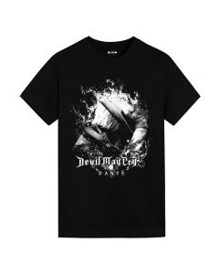 Devil May Cry 5 Dante T-shirt Short Sleeve Tee Top