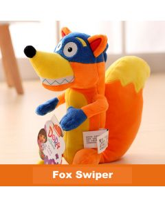 Dora The Explorer Fox Swiper Plush Soft Stuffed Toys Doll