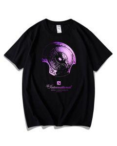 DOTA 2 Aegis of Champions Tee-shirt Cotton Tee Top