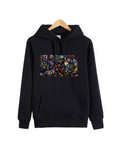 Dota 2 All Heros Printed Pullover Hoodie Sweatshirt