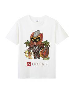 Dota 2 Dragon Knight T-shirt Short Sleeve Tee Top