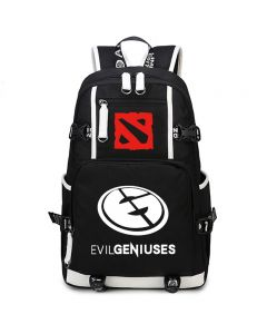 Dota 2 EVIL GENIUSES (EG) Backpack School Bag