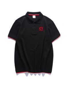Dota 2 Polo Shirt Cotton T-shirt Short Sleeve Top
