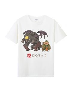 Dota 2 Roshan T-shirt Short Sleeve Tee Top