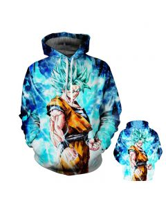 Dragon Ball Z Super Saiyan Hooded Sportswear