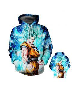 Dragon Ball Z Super Saiyan Hooded Sportswear