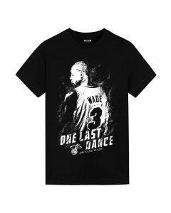 Dwyane Wade T-shirt Short Sleeve Tee Top