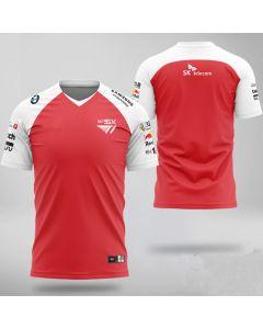 E-sports Team T1 Player Jersey Short Sleeve T-shirt