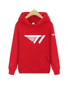 E-sports Team T1 Pullover Hoody Fleece Sweatshirt