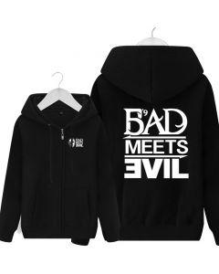 Eminem Bad Meets Evil Full-Zipper Hoodies Jackets