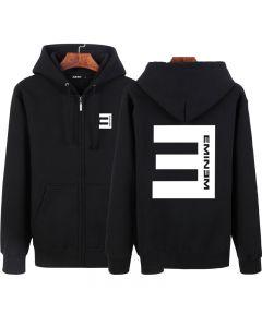 Eminem Fleece Full-Zip Loose-Fit Hoodie