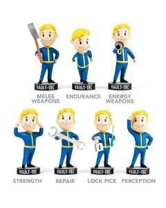 Fallout Vault Boy Bobble Head PVC Action Figure