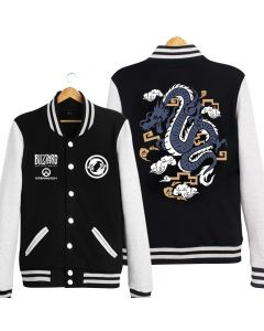 Fashion Overwatch Hanzo Baseball Coat