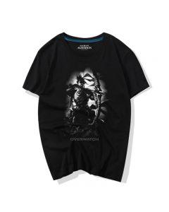 Fashion Overwatch Hanzo Tee Shirt