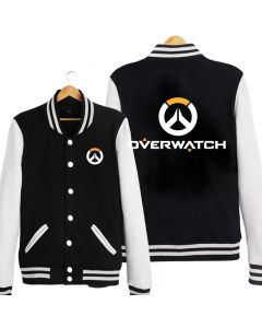 Fashion Overwatch Logo Baseball Coat
