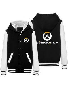 Fashion Overwatch Logo Thicken Baseball Coat