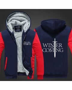 Game of Thrones Winter Is Coming Thicken Hoodie