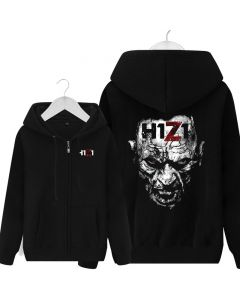 H1z1 Full Zip Pullover Hoodie Hooded Sweatshirt